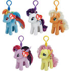 Ty My Little Pony Keyclip Plush Choice of Characters One Supplied NEW