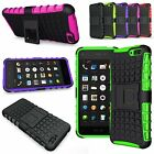For Amazon Fire Phone Hybrid Heavy Duty Armor Hard Soft Rugged Kickstand Case