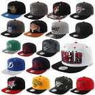 MITCHELL & NESS AND SNAPBACK CAP CHICAGO BULLS NETS KINGS MAVERICKS DEVILS UVM