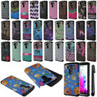 For LG G3 D850 D851 LS990 VS985 Dual Layer HYBRID HARD BACK Case Cover + Pen