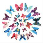 12 pcs 3D Wall Stickers Butterfly Decal Art Home Decor DIY Room Wall Decorations