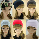 Fabric Fashion Retro Wide Stretch Headband Sports Sweat Hair Head Wrap CHOOSE