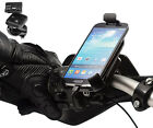 Motorcycle Bike 21-30mm Dia Handlebar Strap Mount + Holder For Samsung Galaxy S4