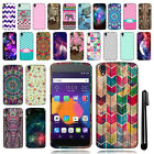 "For Alcatel OneTouch IDOL 3 4.7"" TPU SILICONE Rubber Soft Case Phone Cover + Pen"