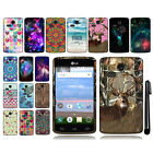 For LG Sunrise L15G Lucky L16C TPU SILICONE Rubber Soft Case Phone Cover + Pen