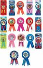 AWARD RIBBON - Birthday Badge - Party Decoration - Disney Prize Gift Reward