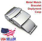 16mm 18mm 20mm Stainless Steel Watch Deployant Deplyment Clasp Watch Band Part