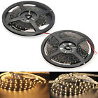 5M 5050 3528 SMD 300 LED Strip Light Lamp Warm White 12V Car Party  Waterproof