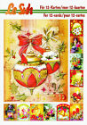 Christmas A5 3D Decoupage Book Le Suh Card Making Paper Crafts CUTTING REQUIRED