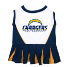 SAN DIEGO CHARGERS NFL Dog CHEERLEADER Pets Outfit Dress All Sizes XS - M Game $23.9 USD