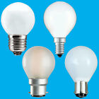 8x Opal Golf Dimmable Standard Light Bulbs 25W 40W 60W BC ES SBC SES Lamps
