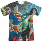Justice League Of Heores Alex Ross Sublimation Licensed Adult T Shirt
