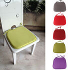 Dining Garden Patio Kitchen Office Home Decor Chair Seat Tie On Pads Cushion