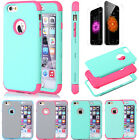"""Shockproof Rugged Hybrid Rubber Hard Cover Case for iPhone 6s 4.7""""/6s Plus 5.5"""""""