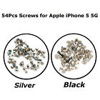Replacement Full Screws Set With 2 Bottom Screws For Apple iPhone 5 Black/Silver