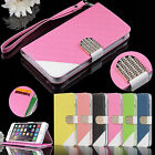 Luxury Magnetic Flip Cover Stand Wallet PU Leather Case For Apple iPhone 6S Plus