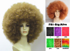1970 disco costumes - 1970S 60'S 70'S DISCO FEVER DIVA RETRO MEGA JUMBO BIG AFRO COSTUME WIG BLACK