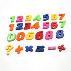Set Of 26 Colorful Teaching Magnetic Letters & Numbers Fridge Magnets Alphabet