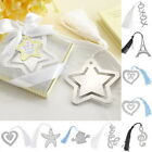 BD  1PC Stainless Steel Personalised Bookmark Silver Tone Present Gift 10 Choose