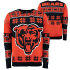 Chicago Bears NFL 2015 Big Logo Ugly Crew Neck Sweater Size: S-XXL