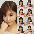 Stylish Girl's Hair Fringe Inclined Bang Clip-In Front Hair Pieces Extension HOT
