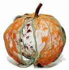 "Metal Mesh Screen Pumpkin In/Outdoor Thanksgiving Fall Harvest 12"" NEW FL-MA2101"
