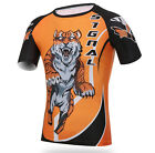 GYM Compression Base Layer Short Sleeve Tee Cycling Jersey Men Tight Shirt C3059