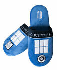 BBC TV Dr Who Tardis Mule Slippers