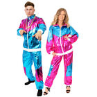 SHELL SUIT FANCY DRESS COSTUME 80'S CHAV OUTFIT SCOUSE 1980'S TRACK SUIT STAG DO