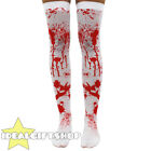 BLOOD STAINED STOCKINGS LADIES HALLOWEEN FANCY DRESS COSTUME ACCESSORIES