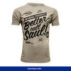 Breaking Bad Inspired Black Print Better Call Saul Men's Standard Fit T-shirt