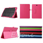 "2015 Hot Flip Leather Stannd Case Cover For 9.7"" Samsung Galaxy Tab A SM-T550"