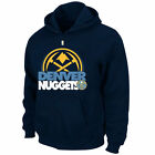 NEW Mens MAJESTIC Denver NUGGETS Game Face Hoodie NBA Big Tall Sweatshirt