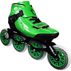 New Green Vanilla Carbon Inline Skate Men and Boys Size 1-13 From VNLA Skates