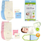 Adjustable 2- PACK Baby Infant Infan Swaddle Wrap Blancket 100% Cotton 7-15 lbs