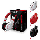 OVLENG X13 3.5mm Jack Headset MP3 Stereo Headphone w Mic for CellPhone Tablet PC