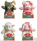 ANIMAL HOTTIE MICROWAVEABLE WHEAT CUDDLE SOFT TOY NOT HOT WATER BOTTLE XMAS GIFT