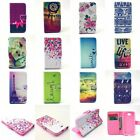 Patterns Flip Leather Wallet Cards Money Slot Stand Case Cover For LG L90 G2 G4