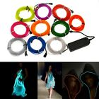 EL Wire Lamp 1M 3M 5M Neon 10 colors Glow Tube 3V controller YW