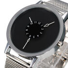 New Fashion Mens Date Stainless Steel Luxury Sport Analog Quartz Wrist Watch