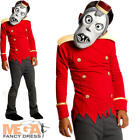 Zombie Bell Hop Boys Hotel Transylvania Fancy Dress Childs Halloween Costume