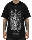 Sullen Clothing Shallow Graves Mens T Shirt Black Gothic Skull Tattoo Art Tee