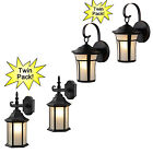 2 Pack-Black and Oil Rubbed Bronze Outdoor / Exterior Outdoor Lighting Fixtures