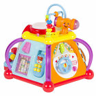 Baby Toy Musical Activity Cube Play Center with Lights,15 Functions Skills