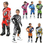 Wulfsport Crossfire Motocross Cub Race Shirt Trouser Set Kids Junior Quad Bike