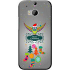 Merry Christmas Christmas Decorations Hard Case For HTC M8