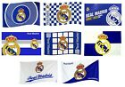OFFICIAL REAL MADRID FOOTBALL CLUB FLAGS 5ft x 3ft