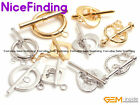 14K Gold Filled Yellow White Clasp Connectors Repair Findings For Jewelry Making