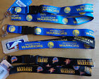 NBA Breakaway Lanyard Keychain Wristlet Click Pens Golden State Warriors (PICK)