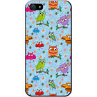 Big Eye Cute Owl Wallpaper Hard Case For Apple iPhone 5 / 5s